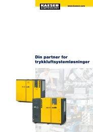 Din partner for trykkluftsystemløsninger - KAESER Kompressorer