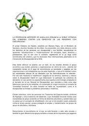 la federacion asperger de andalucia denuncia la doble ofensiva del ...