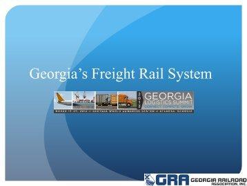 Sharon Dunn, Director, Georgia Railroad Association