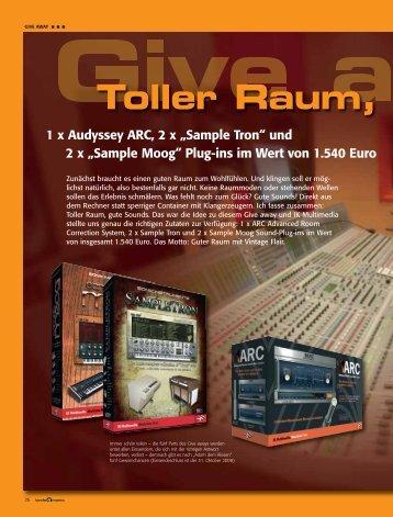 Toller Raum, - tools4music