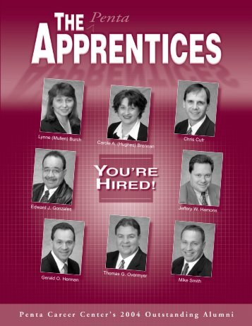 2004 Outstanding Alumni - Penta Career Center