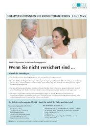 Selbstversicherung in der Krankenversicherung § 16/1 ... - OÖGKK