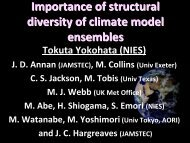 Importance of structural diversity of climate model ensembles