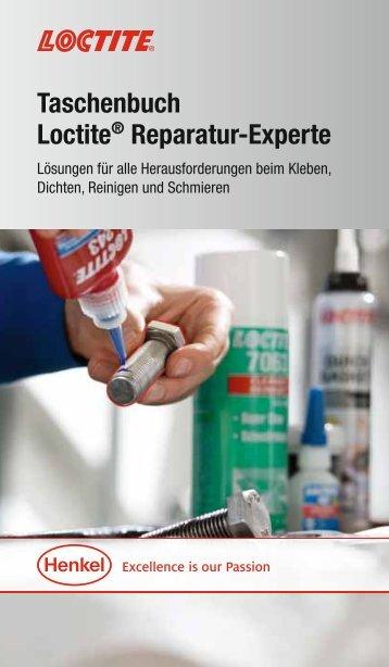 Taschenbuch Loctite® Reparatur-Experte