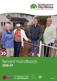 Tenant handbook - Nottingham City Homes