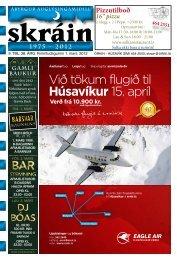 Skráin 9 . tbl. - 1. mars 2012 - Skarpur.is