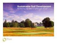 Sustainable Golf Development - European Institute of Golf Course ...