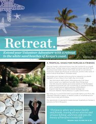 Extend your Volunteer Adventure with a retreat ... - Free The Children