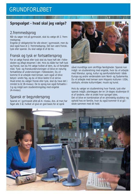 Information om at blive student Rungsted Gymnasium