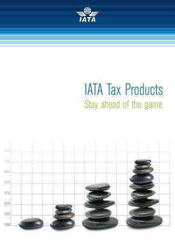IATA Tax Products