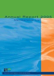 Annual Report 2005 - IRO