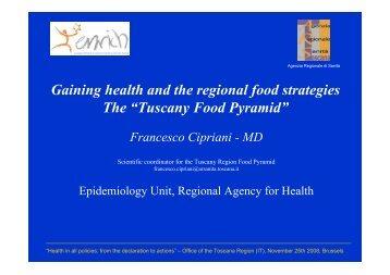 Tuscany Food Pyramid - enrich :: european network of regions ...