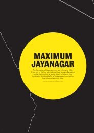 The foundation of Jayanagar was laid in the year ... - MOD Institute