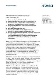 Pressemeldung Geschäftsjahr 2011, deutsch - STEAG