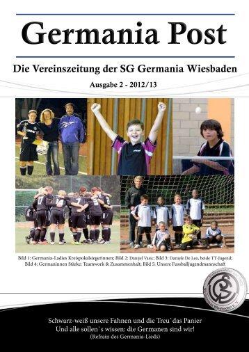 Komplettausgabe hier klicken - SG Germania Wiesbaden