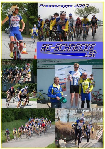 Pressemappe 2007/08 - RC Schnecke