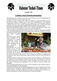 Ausgabe 7/06 - Teckelgruppe Raben