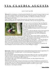 Bericht im pdf Format - RC Schnecke