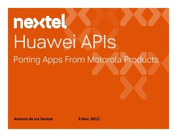 Custom APIs - NII Developer Program