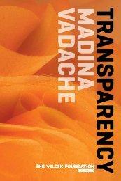 Download Exhibition Catalogue - The Vilcek Foundation