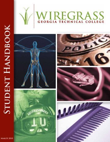 Student Handbook - Wiregrass Georgia Technical College