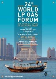 24th WORLD LP GAS FORUM - wlpgas 2011