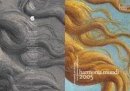 Brochure1-2005 GL - Harmonia Mundi
