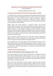 Araştırma Altyapısı ve İnsan gücü Geliştirme ... - Proje Destek Ofisi