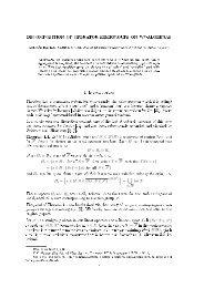 Decomposition of operator semigroups on W*-algebras