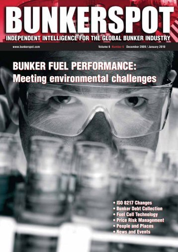 January, 2010: FuelTrax featured in Bunkerspot magazine
