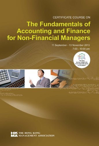 the fundamentals of accounting and finance for non-financial ...