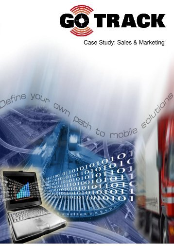 Case Study: Sales & Marketing - GPS Vehicle Tracking System