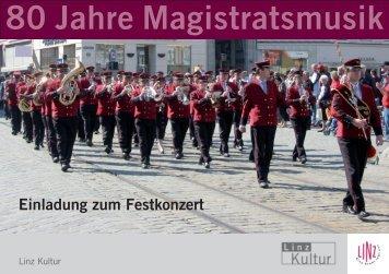 80 Jahre Magistratsmusik - Stadt Linz
