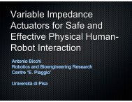 Variable Impedance Actuators for Safe and Effective ... - phriends