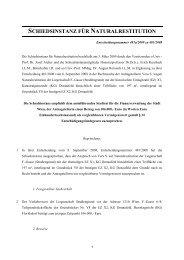 Entscheidung Nr. 481a/2009 zu 481/2008