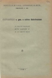 HSTERITEFI n. gen. e outros Asterinaceae - Batista