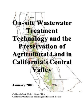 Onsite Wastewater Treatment Technology and the Preservation of