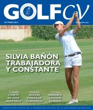 Numero 3 - Federación de Golf de la Comunidad Valenciana