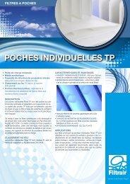 POCHES INDIVIDUELLES TP - Filtrair BV