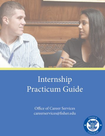 Internship Practicum Guide - Fisher College