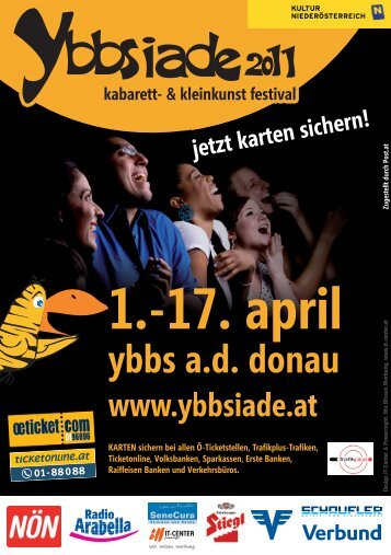 1.-17. april - Ybbsiade