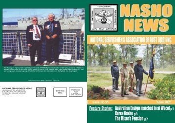 Issue 95 - Nasho Front Page