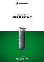 Straumann CODE OF CONDUCT