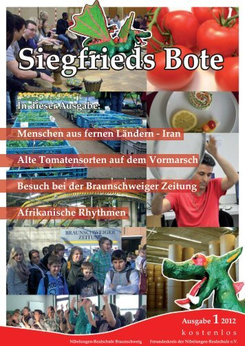Siegfrieds Bote - Nibelungen-Realschule Braunschweig