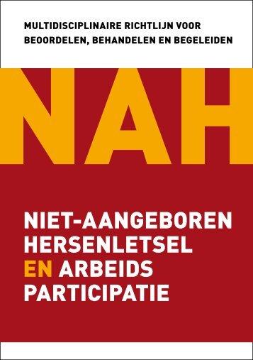 niet-aangeboren hersenletsel en arbeids participatie - Heliomare
