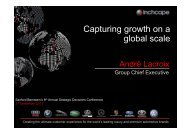 Group Chief Executive - Inchcape