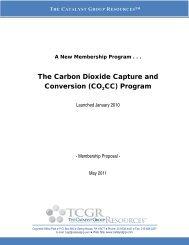 The Carbon Dioxide Capture and Conversion (CO2CC) Program