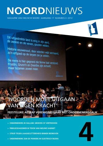 NoordNieuws 4 (2012) - VNO-NCW Noord