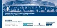 Chance PPP – Marktbilanz für den Mittelstand Finanzierung ...