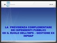 Il ruolo dell'Inps nella previdenza complementare - Piscino.it